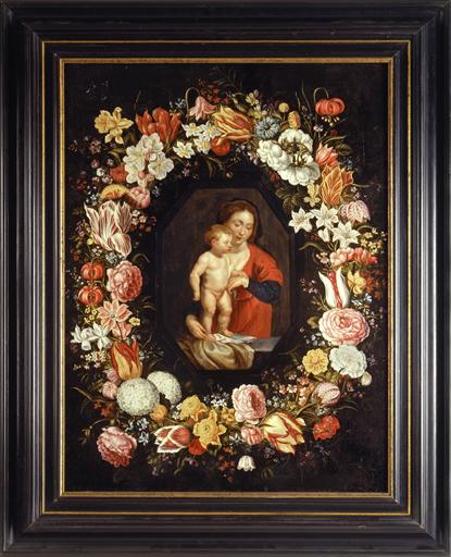 A Napoli, la Madonna col bambino in una ghirlanda di fiori e il vecchio I capolavori di Peter Paul Rubens e Jan Brueghel in mostra al complesso monumentale Donnaregina