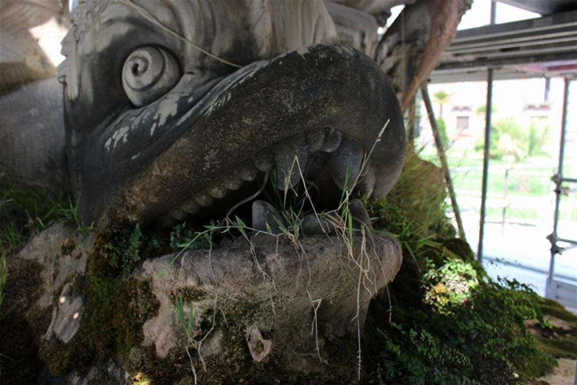 Belvedere ritornerà al suo antico splendore Il restauro è finanziato dall'azienda di acque minerali Ferrarelle SpA
