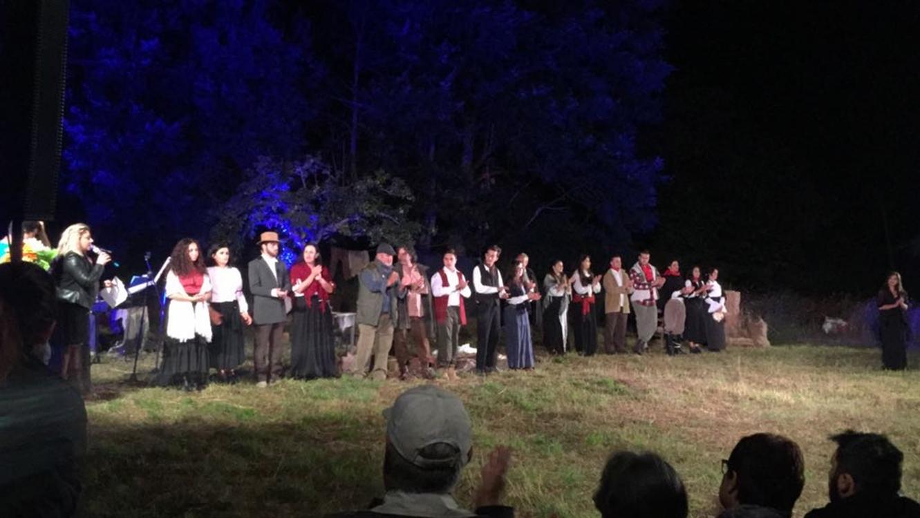 Ombre e luci in terra di briganti Pièce teatrale sulla vera storia di Francesca Carlomagno