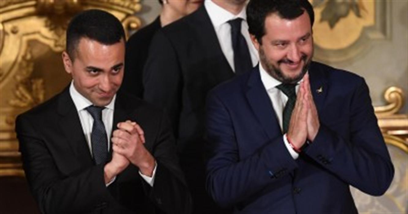 Summit Salvini-Di Maio