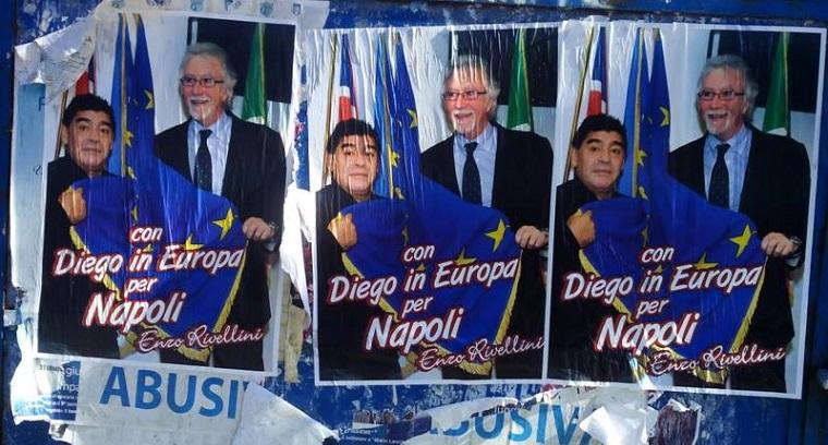 L'eurodeputato, il Pibe de Oro e l'imbratto
