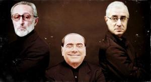 Vittorio Mangano, Silvio Berlusconi e Marcello dell'Utri