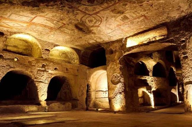 A Napoli sponsor permette restauro catacombe di San Gennaro Uno dei brand più noti nel settore alimentare italiano in campo per sostenere un gruppo di ragazzi del rione Sanità