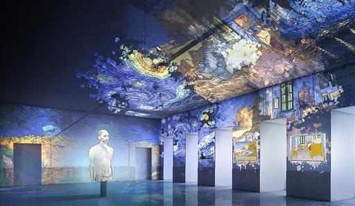 Immergersi nei quadri di Van Gogh, al via la mostra a 360° dedicato al grande artista L'evento alla Basilica di San Giovanni Maggiore Pignatelli, dal 18 novembre al 25 febbraio prossimo