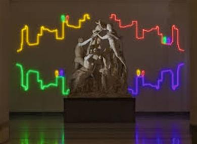 Mann, installazione 'Nella Luce del Tempo' L'opera dell'artista veneziano Francesco Candeloro sarà ancora visibile fino all'8 aprile al Museo nazionale