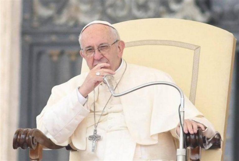 Papa Francesco preoccupato per l'Italia