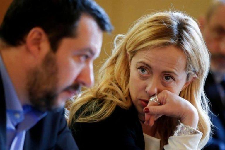 """Salvini pensa alla Lega unico partito a destra. Lo stop della Meloni: """"Noi le alleanze le facciamo prima del voto e non dopo"""""""