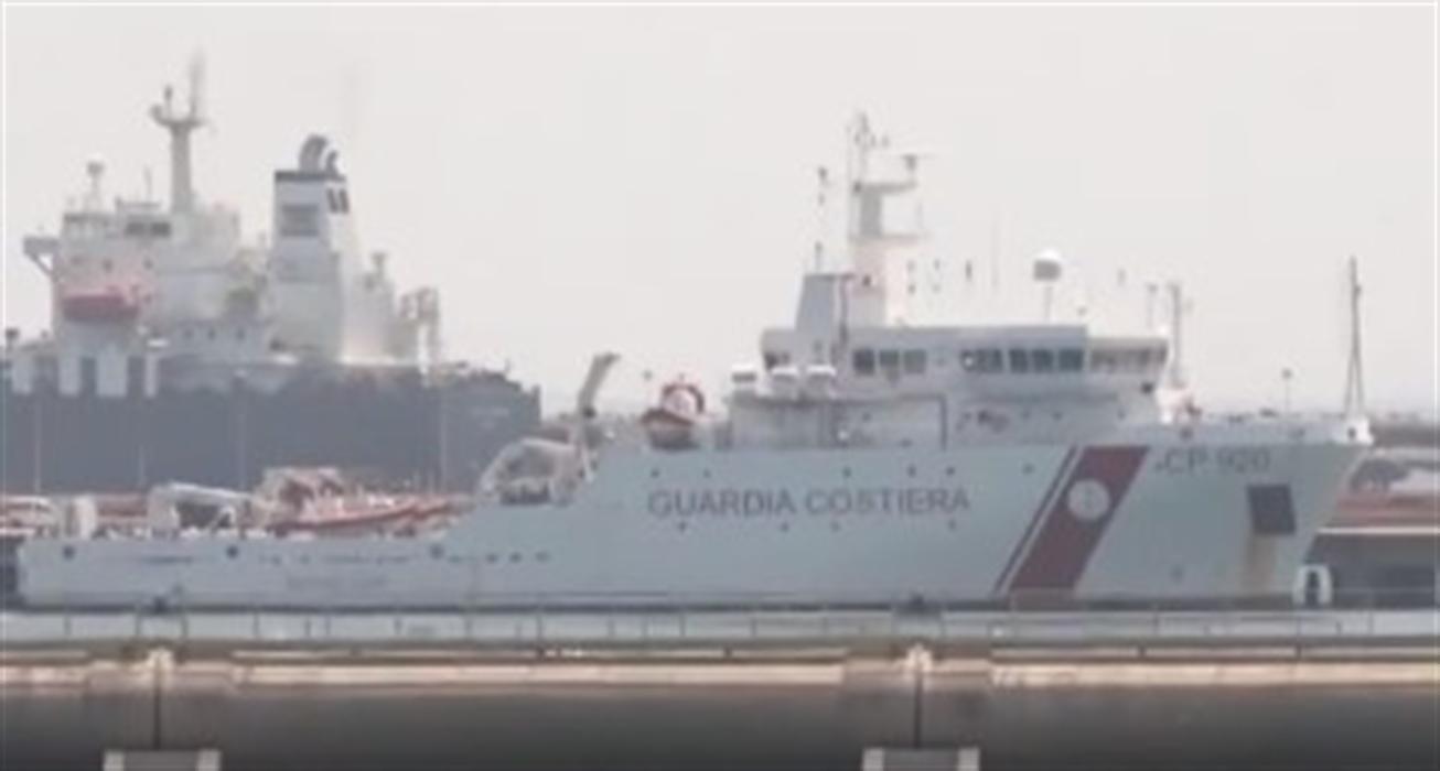 Restano a bordo i 131 migranti della nave 'Gregoretti'