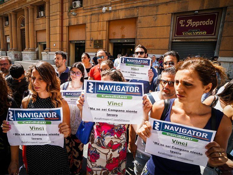 Monta la rabbia tra i navigator della Campania
