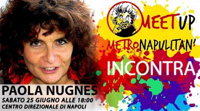 Paola Nugnes incontra il meetUp Metropolitano
