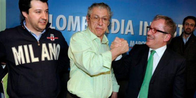 Matteo Salvini con le mani sporche di marmellata e le bugie che fanno arrossire La Lega cresce al 38 per cento ma deve restituire 49 milioni e cerca disperato denaro per adeguare l'organizzazione