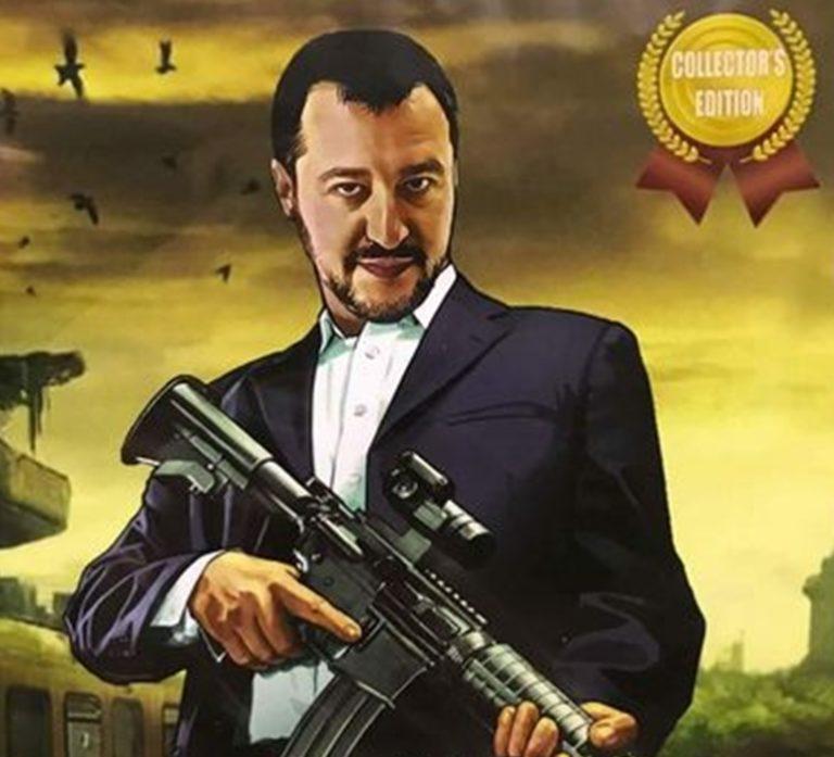 Salvini contro tutti, pronto a far saltare il Governo. Chiede un nuovo premier e la sostituzione di due ministri del M5S