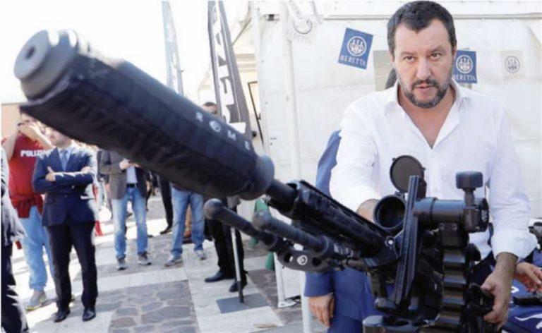 """Carabiniere ucciso. La rabbia del Ministro Salvini: """"Ai due bastardi prometto esemplare punizione e lavori forzati a vita"""""""