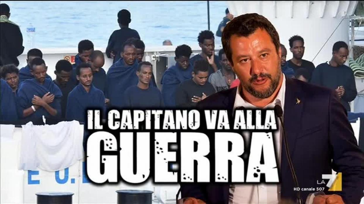 Il furioso Salvini, minaccia la crisi di governo. L'impaurito Di Maio lancia segnali di pace