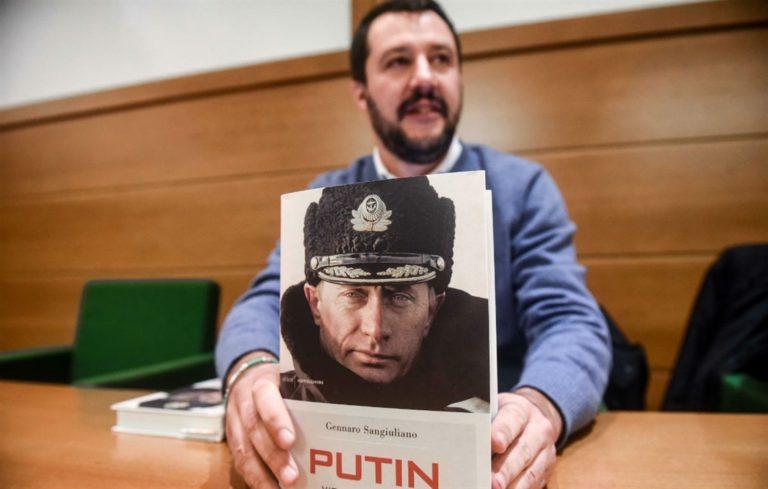 L'ombra di Putin sul successo della Lega. Soldi a Salvini per destabilizzare la Ue