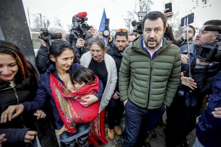 No ai nuovi pogrom. Salvini mette in moto la ruspa. Finiscono nel mirino della circolare : Rom, Sinti e Caminati
