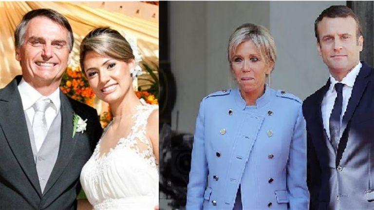 Scintille tra Francia e Brasile. Bolsonaro offende  la premiere dame Brigitte Macron