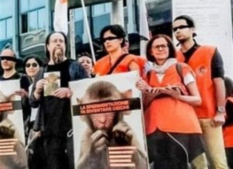 Animalisti contro il ricercatore che 'usa' i macachi