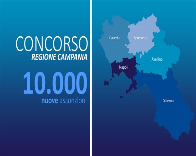 Regione Campania, 24 ore e poi stop alle domande per partecipare al concorsone
