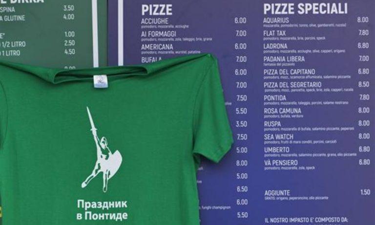 Festa di Pontida, spuntano le 'pizze speciali' leghiste 'dedicate' alle odiate Ong: Aquarius, Sea Watch
