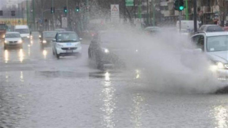 Scatta l'allerta meteo : temporali e forti piogge