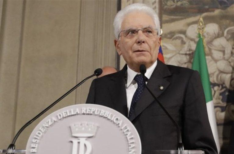 Attesa per il discorso del Capo dello Stato, Sergio Mattarella