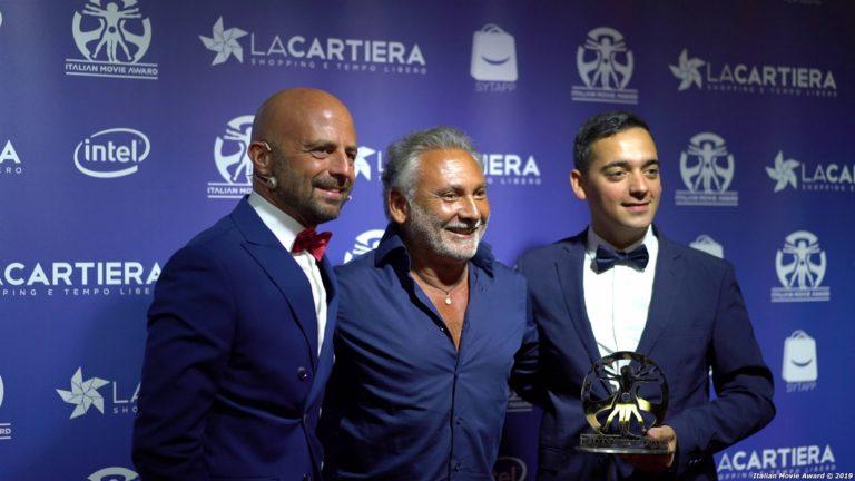 Stelle del cinema sul red carpet per la chiusura dell'Italian Movie Award di Pompei