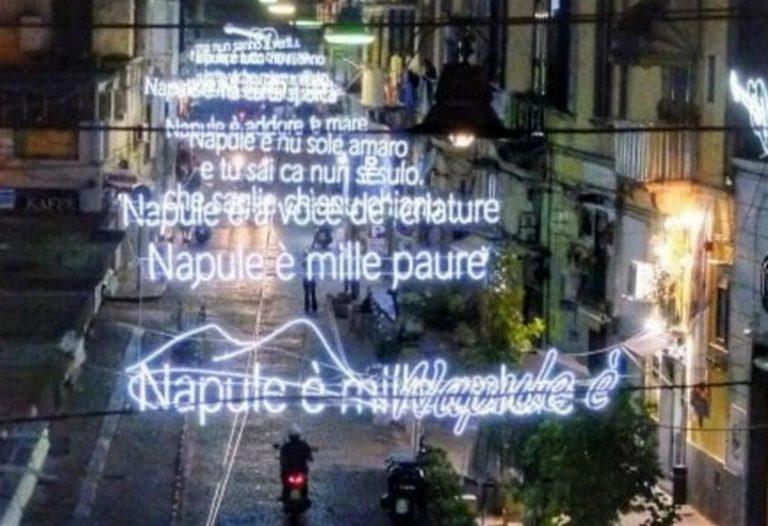 Napul'è, il capolavoro di Pino Daniele risplende nel cielo del Rione Sanita