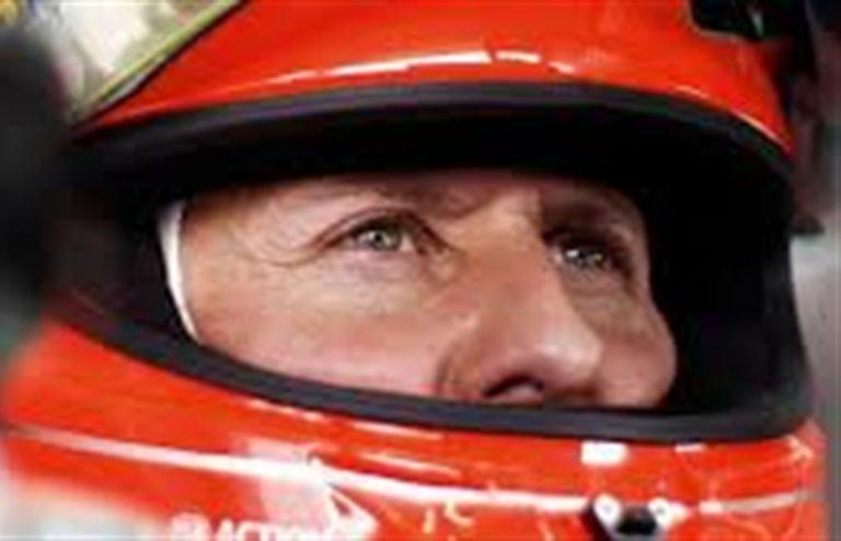 Michael Schumacher  è cosciente