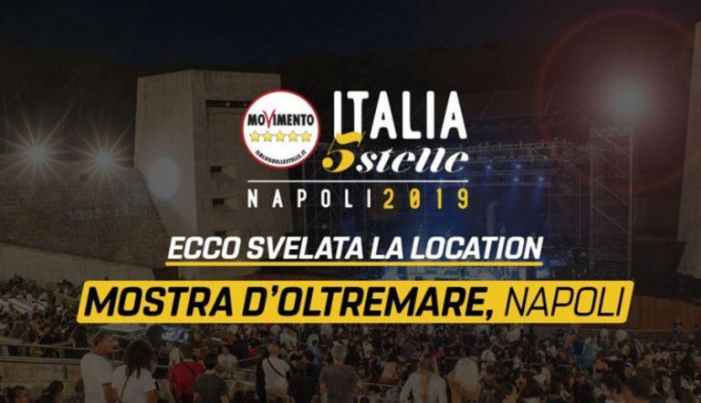 Festa M5S alla Mostra d'Oltremare, a Napoli i big del Movimento