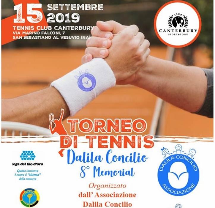 Torneo di tennis per ricordare Dalila Concilio e raccogliere fondi per la ricerca