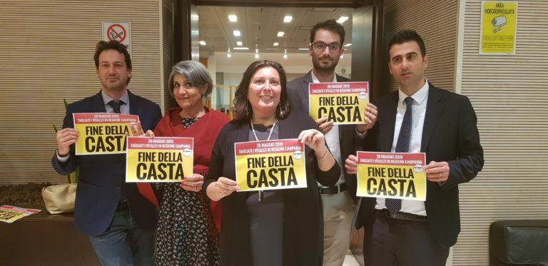 M5S, lancia 'Rinascita Campania', una lista d'appoggio alla De Luca