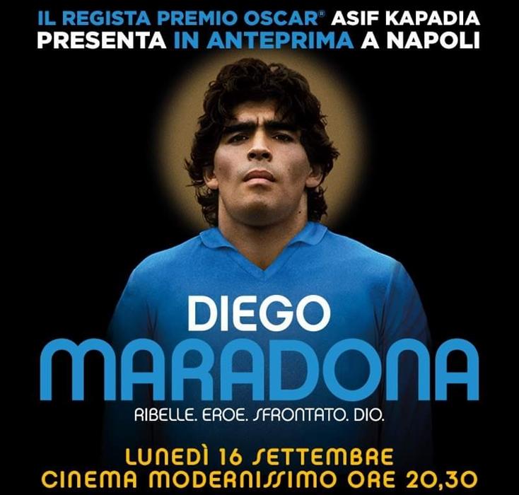 Sbarca a Napoli, l'atteso docufilm 'Maradona' firmato Kapadia