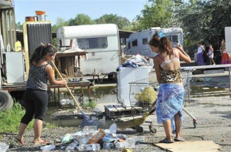 Campo rom, al via i test Covid19 sulla popolazione