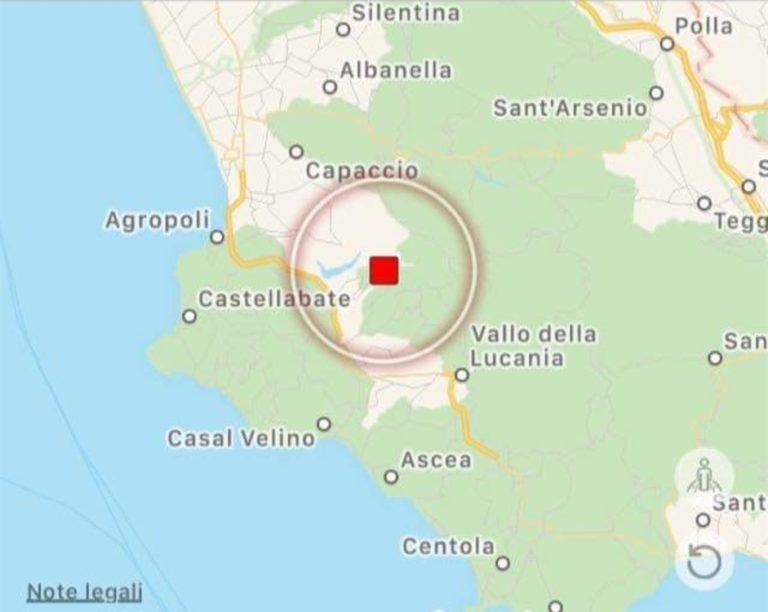 Paura nel salernitano: scossa di magnitudo 4.3 sulla scala Richter. Gente in strada e verifiche in corso su edifici e abitazioni