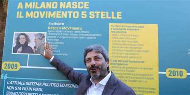 Italia 5 Stelle vince la linea dell'ipocrisia. Anche Fico si allinea al pensiero unico