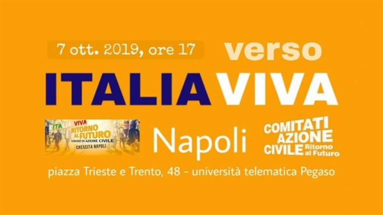 Italia Viva sbarca a Napoli