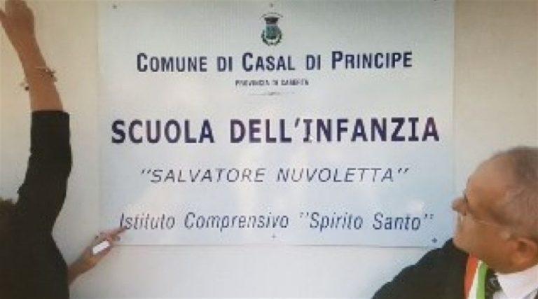 Casal di Principe, la rivoluzione della normalità. Inaugurata nuova scuola e intitolata al carabiniere Salvatore Nuvoletta, vittima della camorra