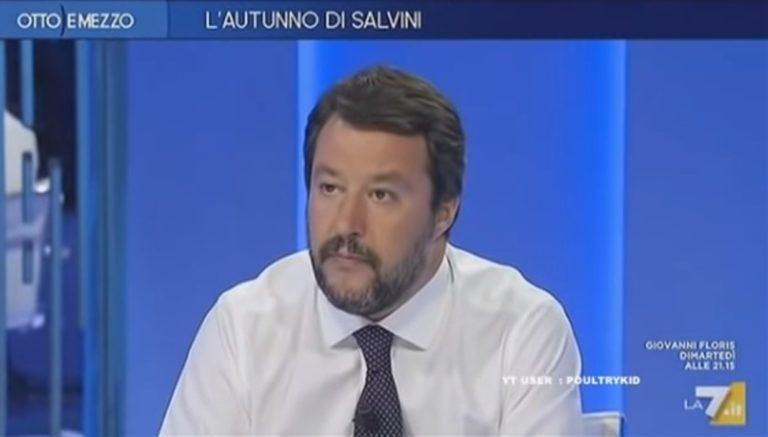 """Salvini nella roccaforte di De Luca: """"Non gioco a perdere"""""""