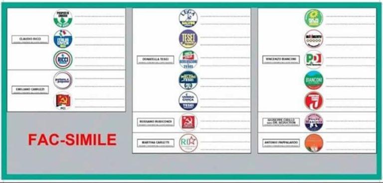 """Il facsimile della scheda elettorale infiamma la base del M5S: """"È una accozzaglia"""""""