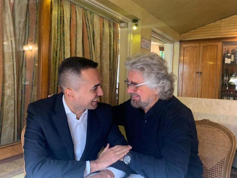 """VIDEO. La frustata di Grillo ai portavoce e attivisti: """"Di Maio è il capo politico e non rompete i coglioni"""""""
