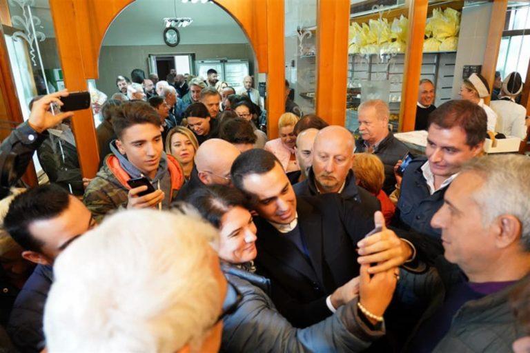 Di Maio apre la campagna elettorale per le regionali in Campania del 2020