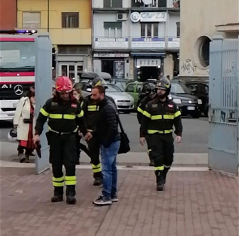 """Scuola 'Andrea Doria', la preoccupazione della  protezione civile e dei pompieri: """"Occorrono  interventi immediati"""""""