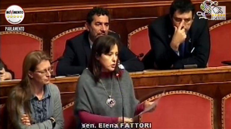 La senatrice Elena Fattori sbatte la porta e lascia il Movimento 5 Stelle