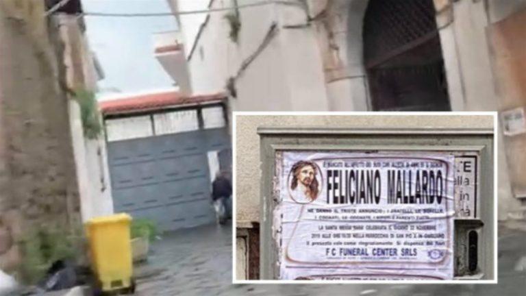 Funerali blindati per Mallardo congiunto dei vertici dell'omonimo clan