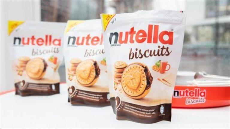 Da record i 'Nutella Biscuits' della Ferrero: vendute 57 milioni di confezioni