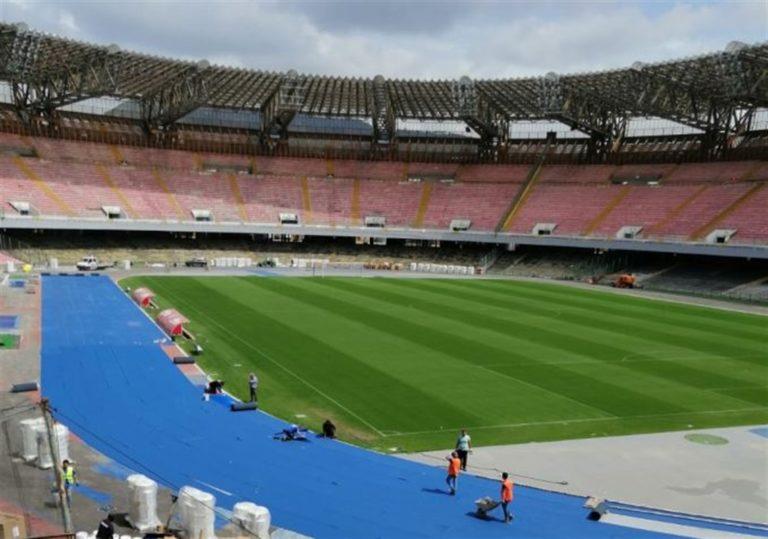 Guardi la partita del Napoli al San Paolo  senza rispettare il posto assegnato ? Ecco la multa