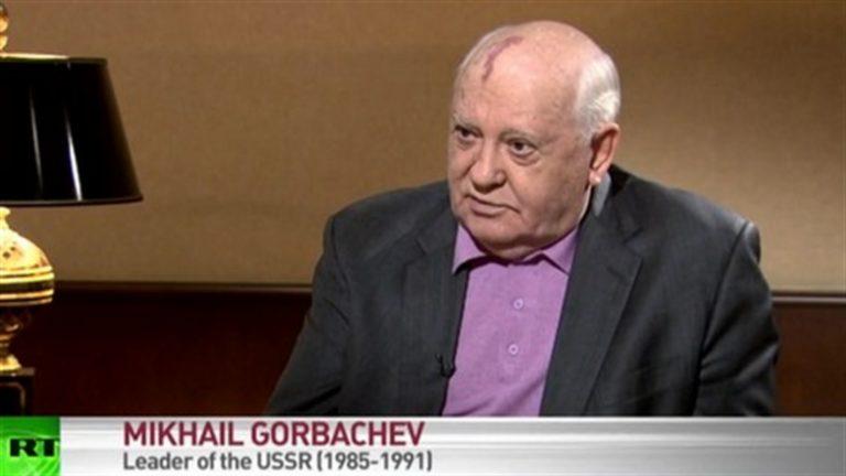 Mikhail Gorbaciov ricoverato in ospedale. Il premio Nobel avrebbe una polmonite
