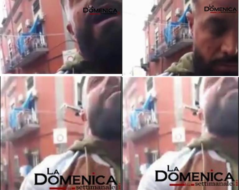 VIDEO. Aggredito per l'ennesima volta il consigliere Borrelli. Cosa si aspetta a metterlo sotto protezione? Ecco il volto dell'energumeno
