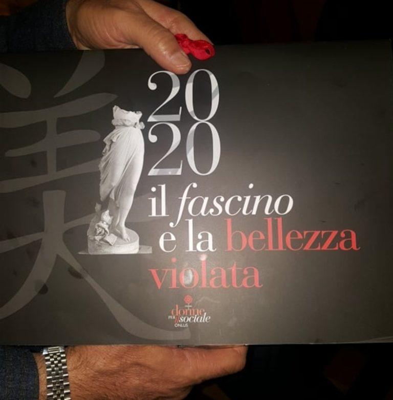 A Palazzo Alabardieri, il calendario 2020 dell' associazione 'Donne per il sociale onlus'